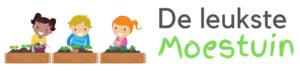 Logo deleukstemoestuin - moestuinieren met kinderen